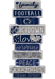 Penn State Nittany Lions Celebrations Stack 24 Inch Sign