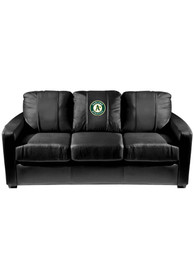 Oakland Athletics Faux Leather Sofa