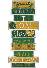 Portland Timbers Celebrations Stack 24 Inch Sign