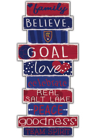 Real Salt Lake Celebrations Stack 24 Inch Sign