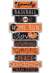 San Francisco Giants Celebrations Stack 24 Inch Sign