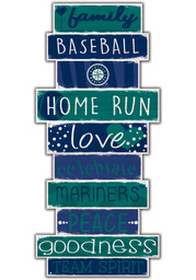 Seattle Mariners Celebrations Stack 24 Inch Sign