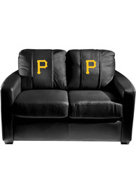 Pittsburgh Pirates Faux Leather Love Seat