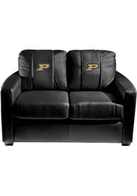 Purdue Boilermakers Faux Leather Love Seat