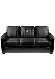 Purdue Boilermakers Faux Leather Sofa