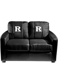 Rutgers Scarlet Knights Faux Leather Love Seat