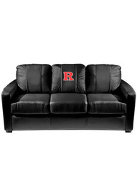 Rutgers Scarlet Knights Faux Leather Sofa
