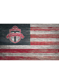 Toronto FC Distressed Flag 11x19 Sign