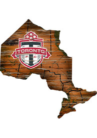 Toronto FC Distressed State 24 Inch Sign