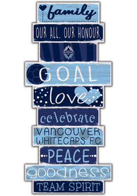 Vancouver Whitecaps FC Celebrations Stack 24 Inch Sign