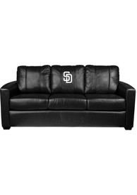 San Diego Padres Faux Leather Sofa