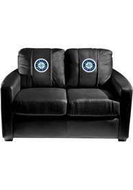 Seattle Mariners Faux Leather Love Seat