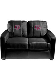 Texas A&M Aggies Faux Leather Love Seat