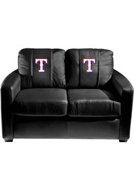 Texas Rangers Faux Leather Love Seat