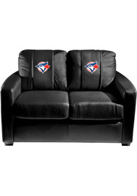 Toronto Blue Jays Faux Leather Love Seat