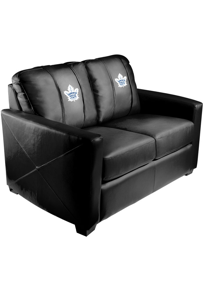 Toronto Maple Leafs Faux Leather Love Seat - Image 1