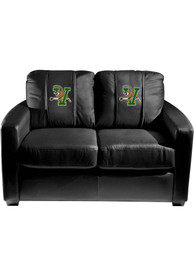 Vermont Catamounts Faux Leather Love Seat