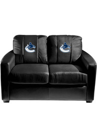Vancouver Canucks Faux Leather Love Seat