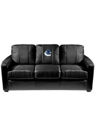 Vancouver Canucks Faux Leather Sofa