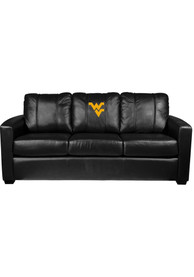 West Virginia Mountaineers Faux Leather Sofa