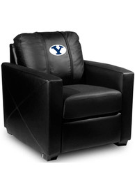 BYU Cougars Faux Leather Club Desk Chair
