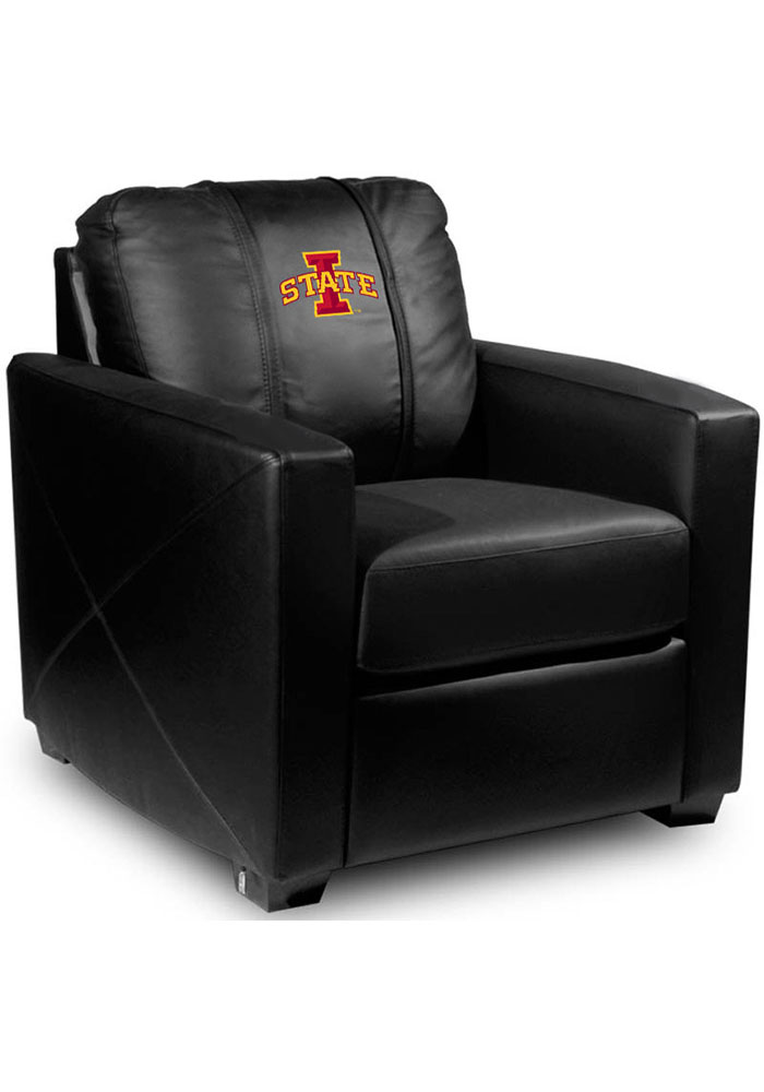 Iowa State Cyclones Faux Leather Club Desk Chair - Image 1