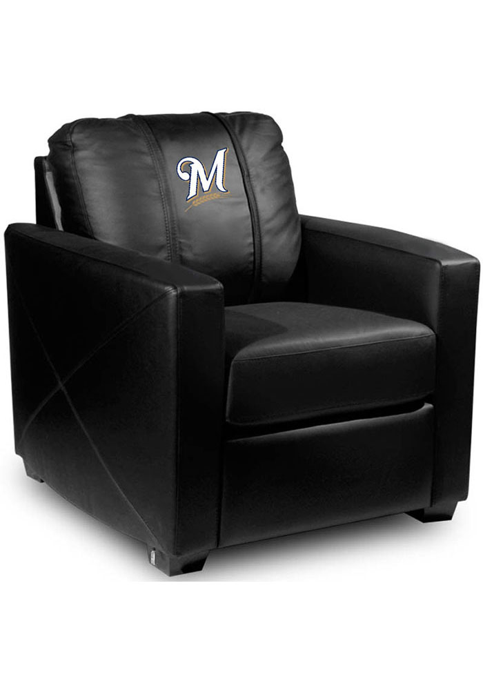 Milwaukee Brewers Faux Leather Club Desk Chair - Image 1