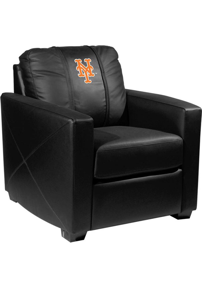 New York Mets Faux Leather Club Desk Chair - Image 1