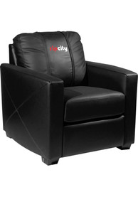 Portland Trail Blazers Faux Leather Club Desk Chair