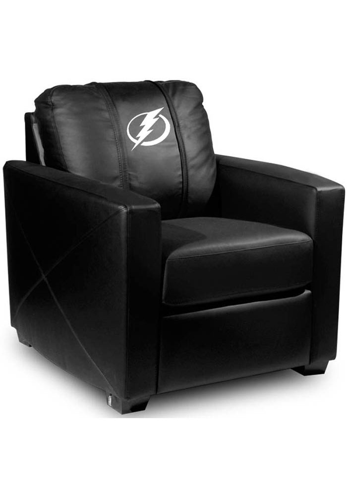 Tampa Bay Lightning Faux Leather Club Desk Chair - Image 1