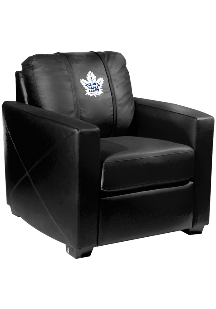Toronto Maple Leafs Faux Leather Club Desk Chair - Image 1