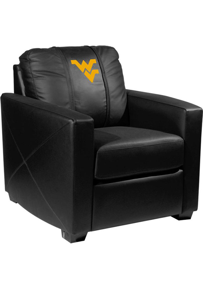 West Virginia Mountaineers Faux Leather Club Desk Chair - Image 1