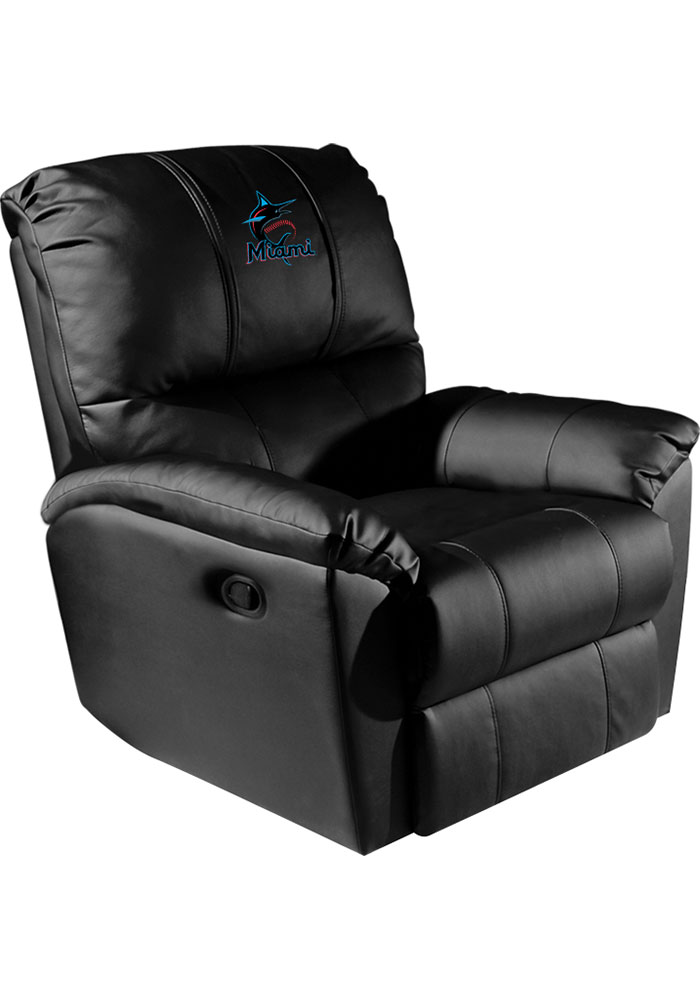 Miami Marlins Rocker Recliner - Image 1