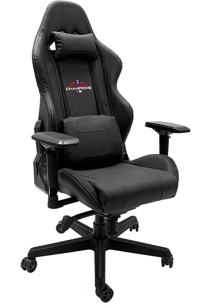 Boston Red Sox Xpression Black Gaming Chair - Image 1