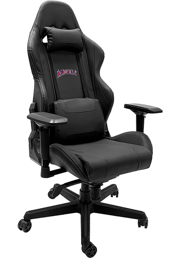 Los Angeles Angels Xpression Black Gaming Chair - Image 1