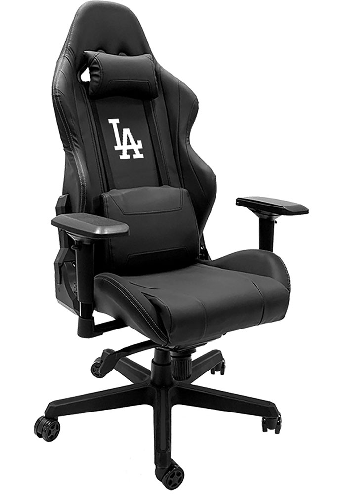 Los Angeles Dodgers Xpression Black Gaming Chair - Image 1