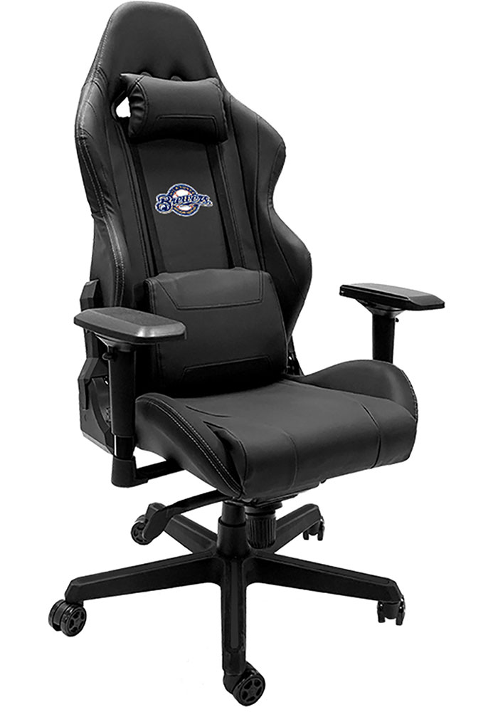Milwaukee Brewers Xpression Black Gaming Chair - Image 1