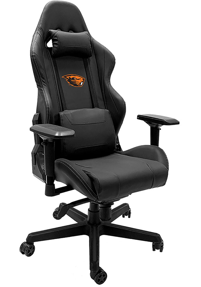 Oregon State Beavers Xpression Black Gaming Chair - Image 1