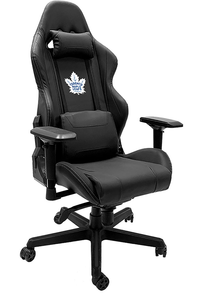 Toronto Maple Leafs Xpression Black Gaming Chair - Image 1