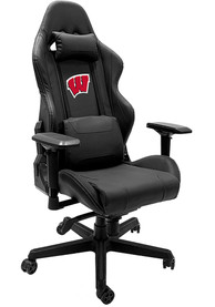 Wisconsin Badgers Xpression Black Gaming Chair