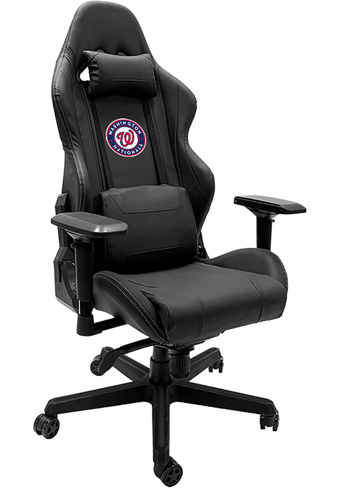 Washington Nationals Xpression Black Gaming Chair - Image 1