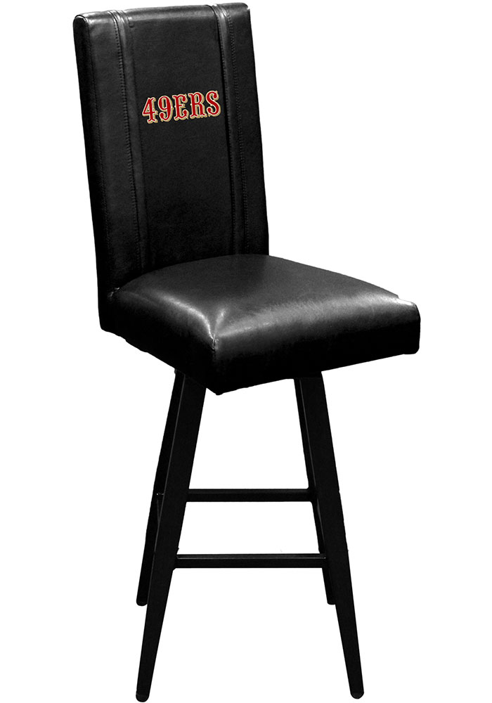 San Francisco 49ers Swivel Pub Stool - Image 1