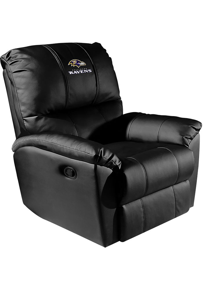 Baltimore Ravens Rocker Recliner - Image 1