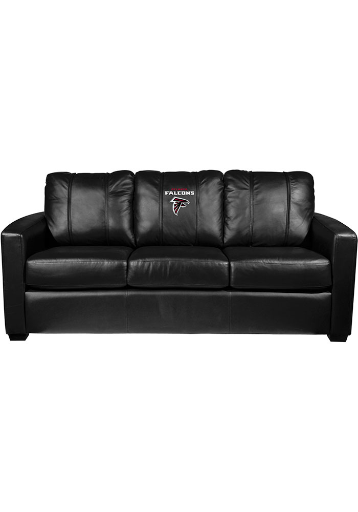 Atlanta Falcons Faux Leather Sofa - Image 1