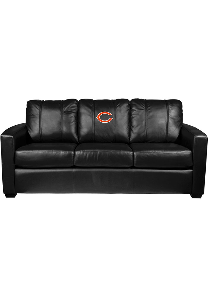Chicago Bears Faux Leather Sofa - Image 1