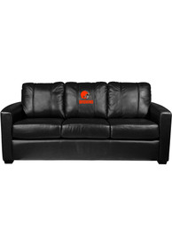 Cleveland Browns Faux Leather Sofa