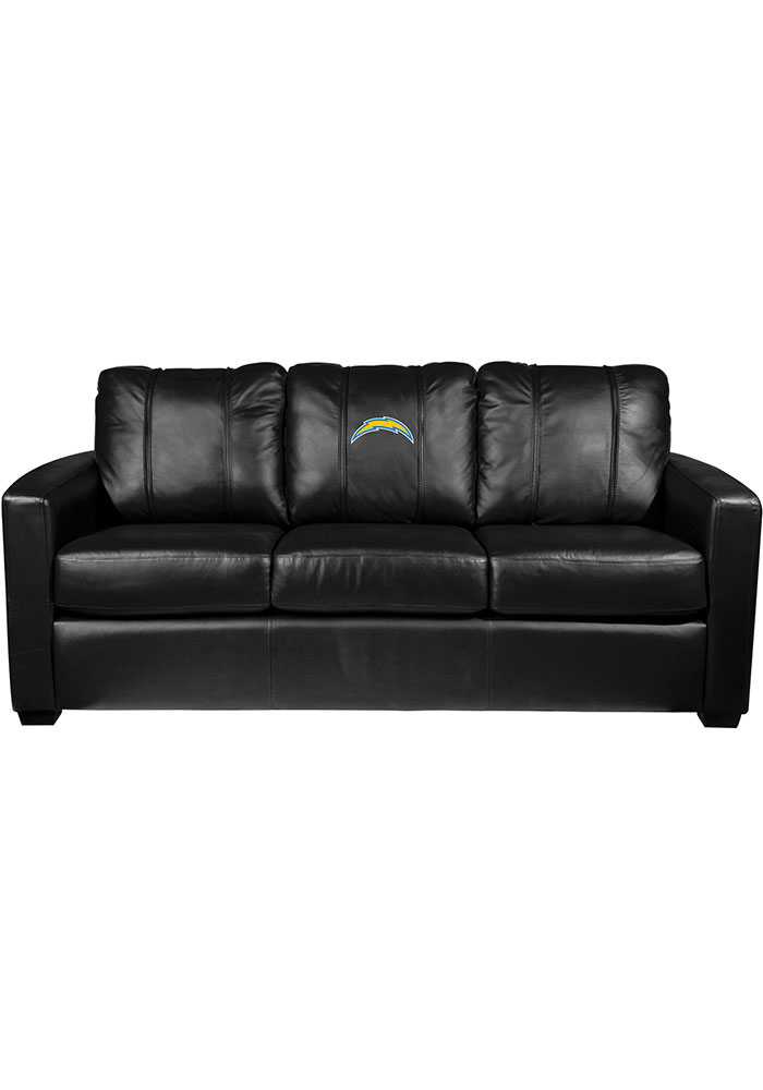 Los Angeles Chargers Faux Leather Sofa - Image 1