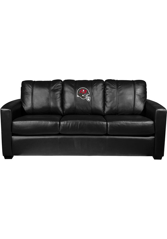 Tampa Bay Buccaneers Faux Leather Sofa - Image 1