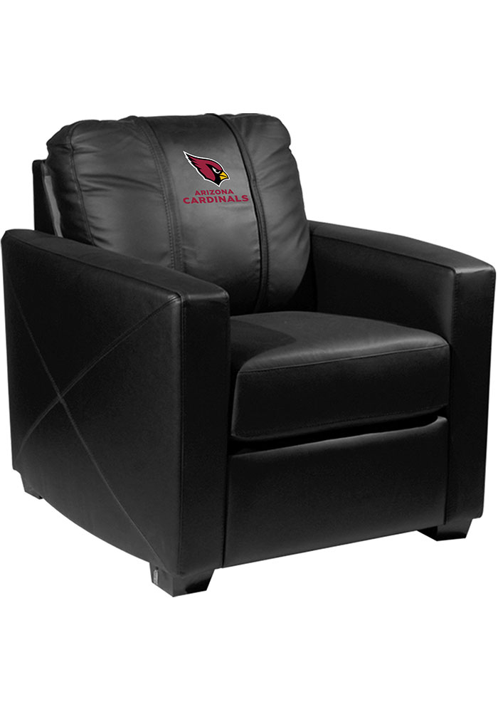 Arizona Cardinals Faux Leather Club Desk Chair - Image 1