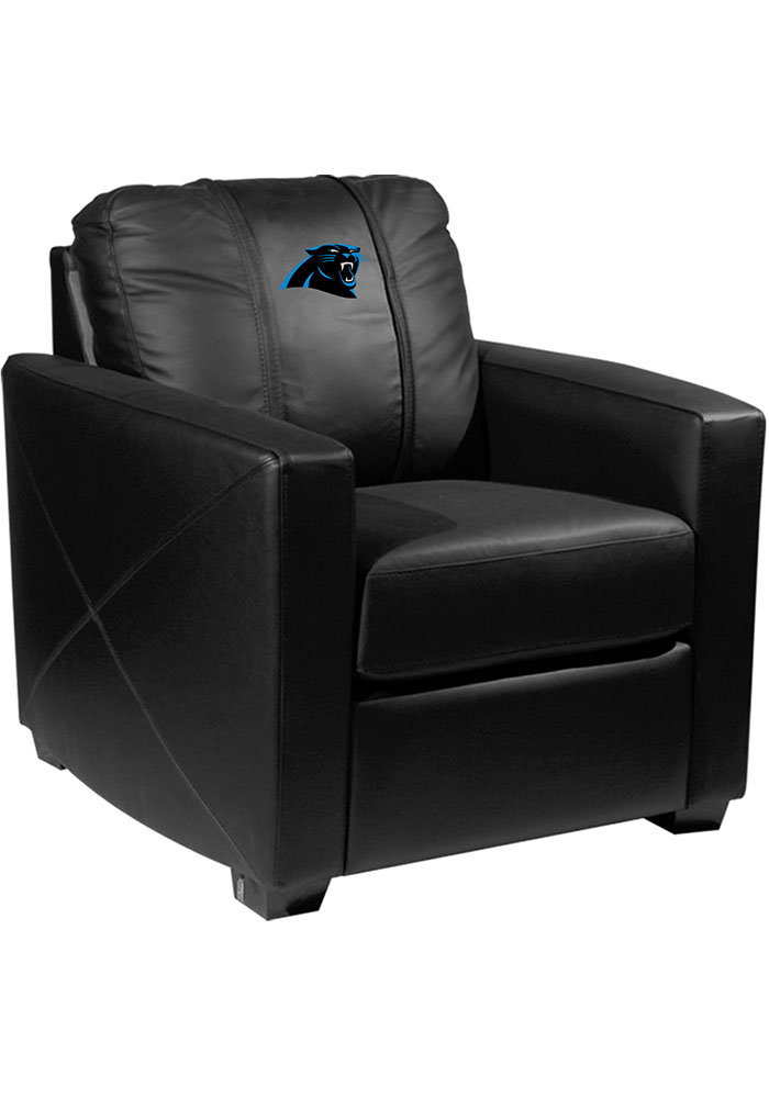 Carolina Panthers Faux Leather Club Desk Chair - Image 1